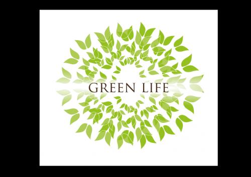 portfolio 39/51  - Lógotipo Experimental - Green Life