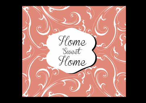 portfolio 38/51  - Lógotipo Experimental - Home sweet Home