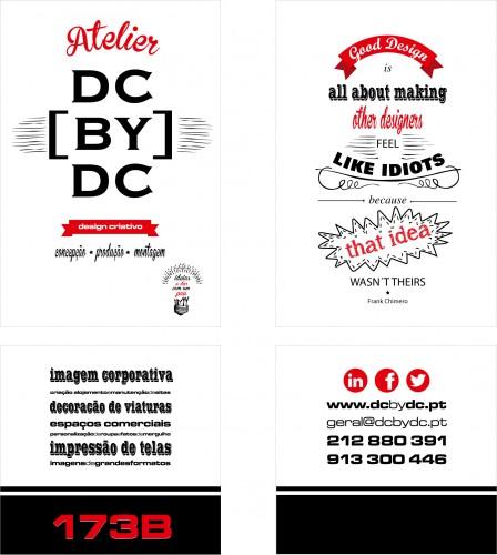 portfolio 36/51  - Montra da empresa de Design DC_BY_DC