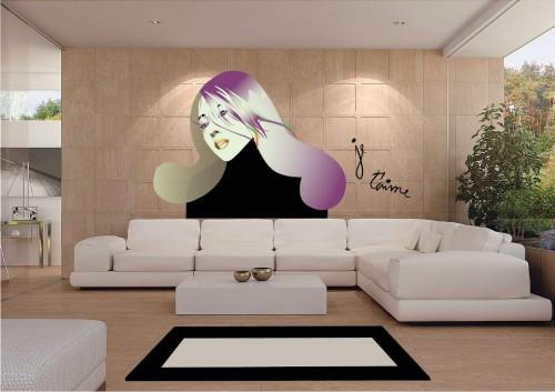 portfolio 18/51  - Aplicação de ilustração na parede