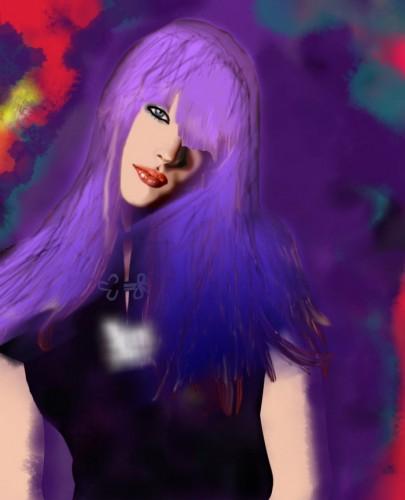 portfolio 15/51  - Ilustração Liv Tyler