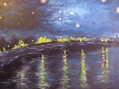portfolio 5/14  - Pintura a Óleo s/Tela: reprodução da Obra de Van Gogh