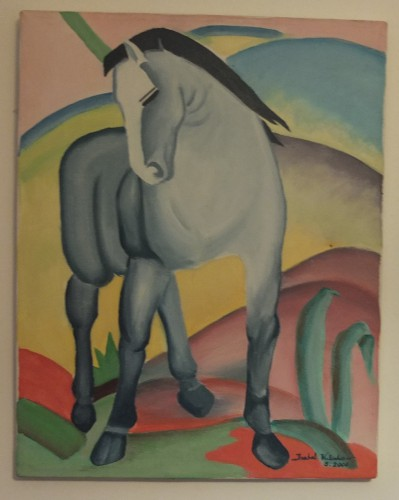 portfolio 4/14  - Pintura a Óleo s/Tela: reprodução da Obra de Kandinsky