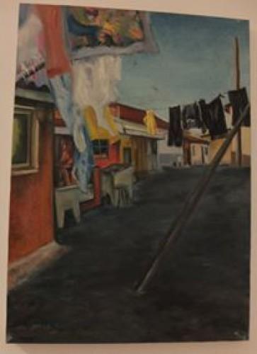 portfolio 13/14  - Pintura a Óleo s/Tela: Lisboa Antiga