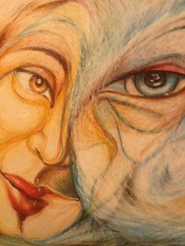 portfolio 11/14  - Pintura a Pastel de Óleo s/ Papel meias tintas
