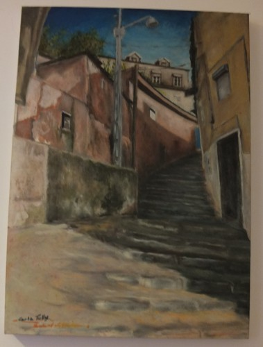 portfolio 7/14  - Pintura a Óleo s/Tela: Lisboa Antiga
