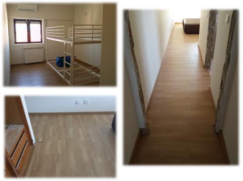 portfolio 5/13  - Remodelação apartamento Estoril (Aplicação flutuante, pintura interiores, portas madeira)