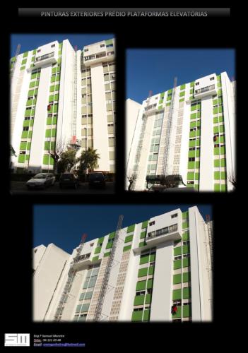 portfolio 3/13  - Pintura fachada prédio