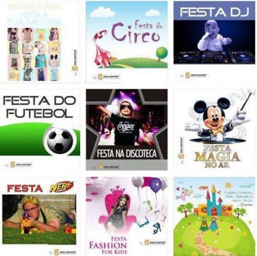 portfolio 4/4  - Festas de Aniversário Temáticas by 5 Sentidos Eventos