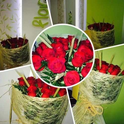 portfolio 6/6  - Bouquet de Rosas Vermelhas