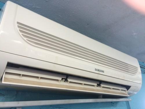 portfolio 13/20  - (Depois) Limpeza e desinfecção de aparelhos de ar condicionado