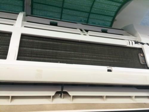 portfolio 12/20  - (Depois) Limpeza e desinfecção de aparelhos de ar condicionado