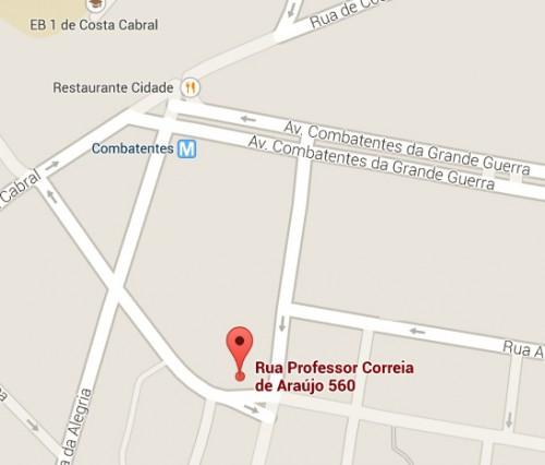 portfolio 2/2  - Localização da Agência
