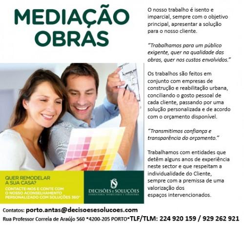 portfolio 1/2  - Mediação de Obras