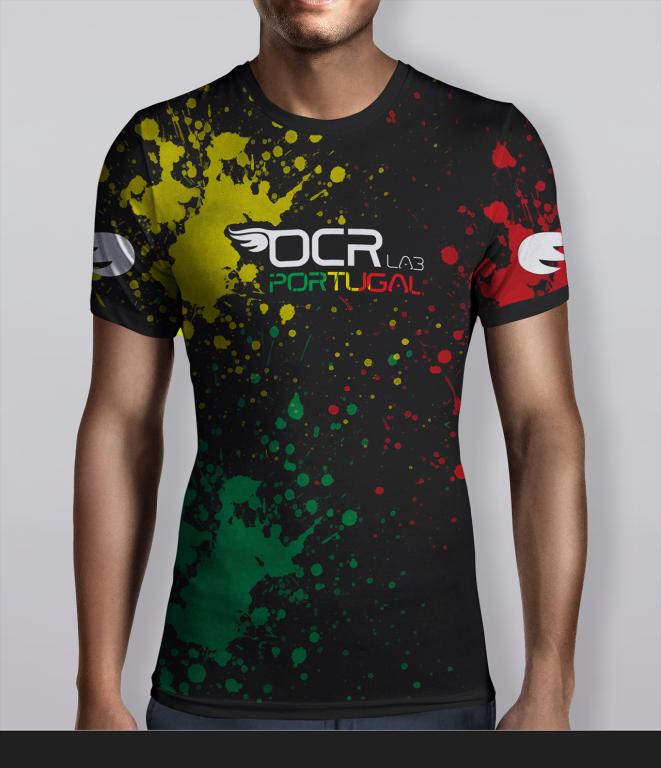 portfolio 38/43  - T-shirt OCR