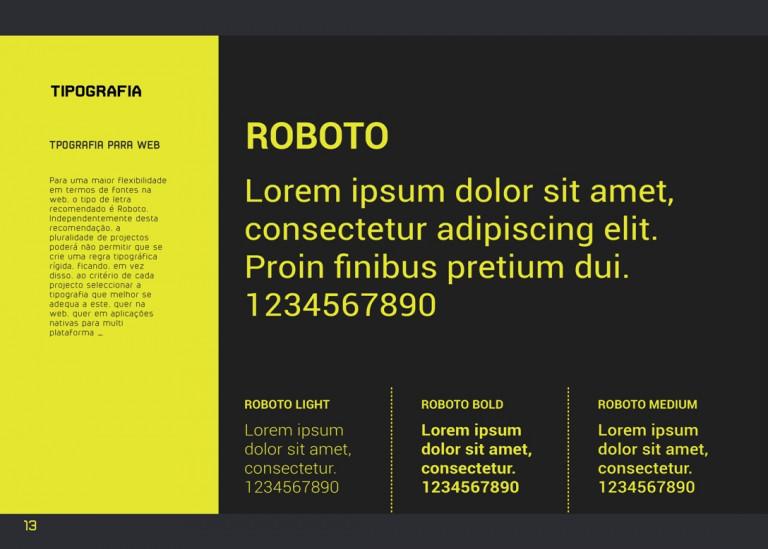 portfolio 13/43  - Manual de Normas gráficas