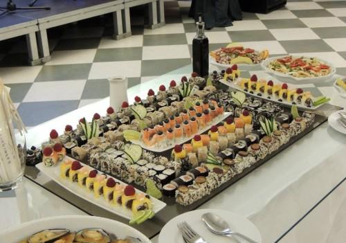 portfolio 28/69  - Sushi em casamento