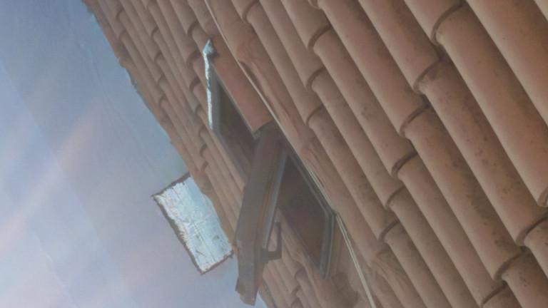portfolio 17/140  - Colocação de tela em telhado