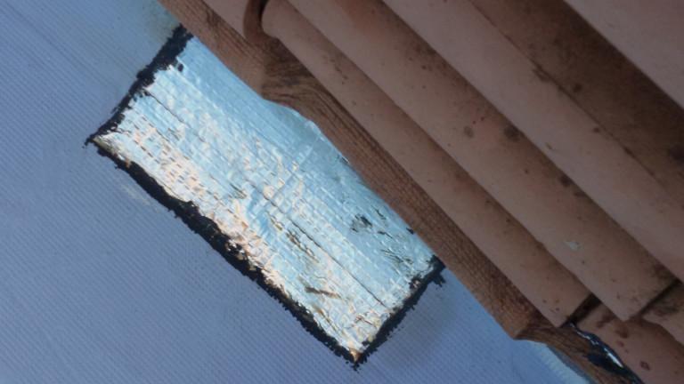 portfolio 15/140  - Colocação de tela em telhado