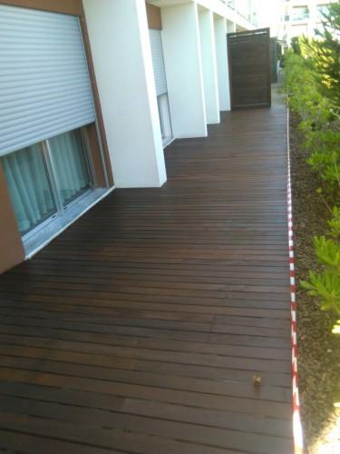 portfolio 115/140  - serviço de carpintaria