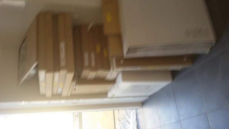 portfolio 56/140  - Montagem de cozinhas em cinco apartamentos