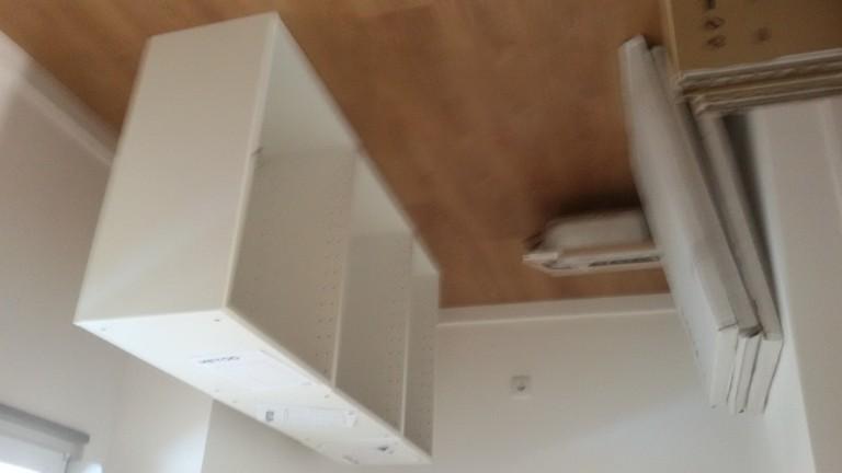 portfolio 52/140  - Montagem de cozinhas em cinco apartamentos