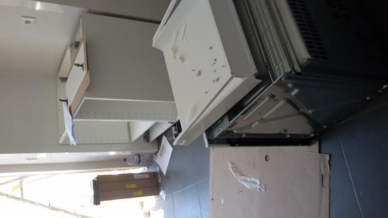 portfolio 51/140  - Montagem de cozinhas em cinco apartamentos