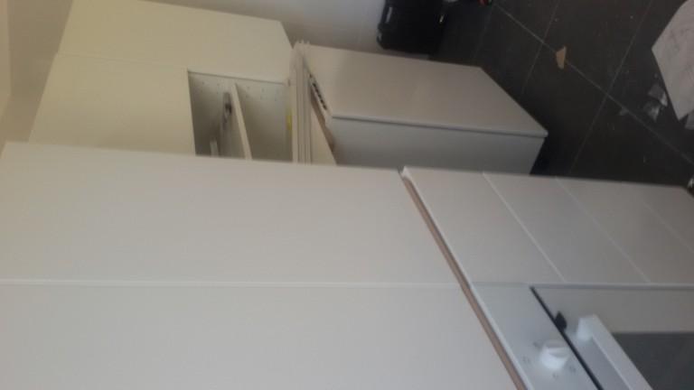portfolio 47/140  - Montagem de cozinhas em cinco apartamentos