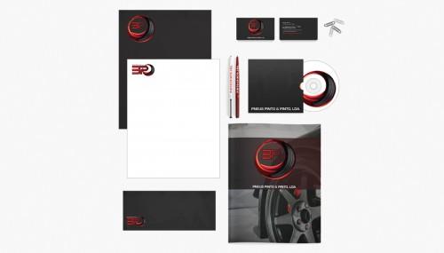portfolio 9/10  - Branding - 3P Pneus Pinto & Pinto