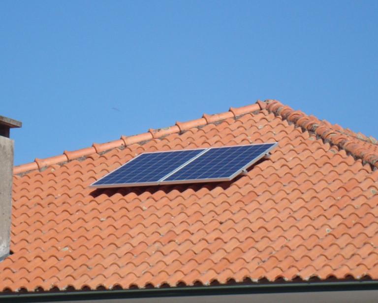 portfolio 1/7  - Sistema Solar Fotovoltaico Autoconsumo 500Wp