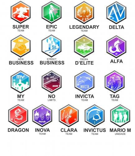 portfolio 6/10  - 17 logotipos - Sector Interactivo - Photoshop