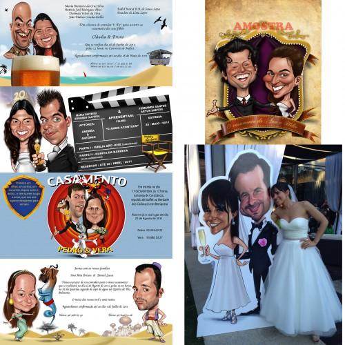 portfolio 14/37  - Convites de casamento originais