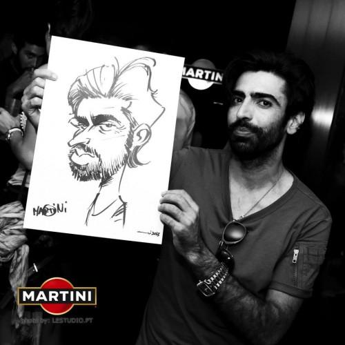 portfolio 37/37  - Caricaturas ao vivo em eventos