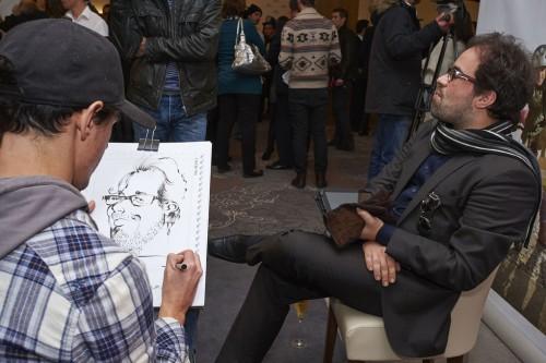 portfolio 33/37  - Caricaturas ao vivo em eventos