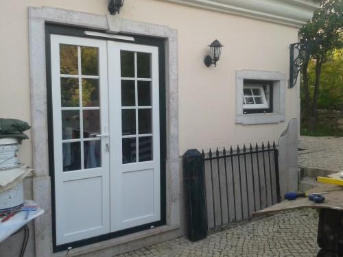 portfolio 16/19  - Janelas em PVC - Sintra