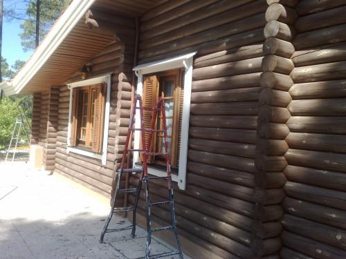 portfolio 37/51  - Restauro casa de madeira