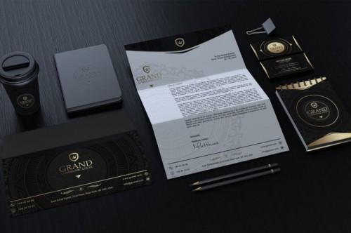 portfolio 5/6  - Design criação de identidade de empresa