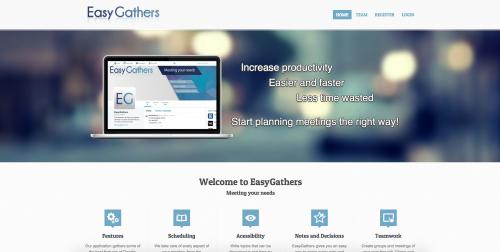 portfolio 2/6  - website: www.easygathers.com