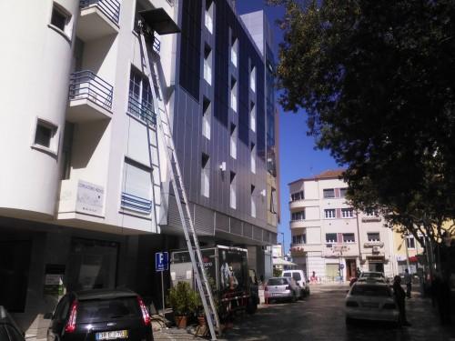 portfolio 38/40  - Serviço Elevador Exterior em Apartamentos