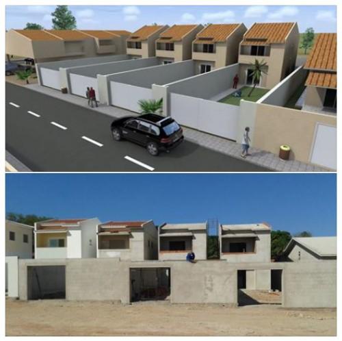 portfolio 2/3  - Empreendimento de moradias - Fortaleza - Brasil