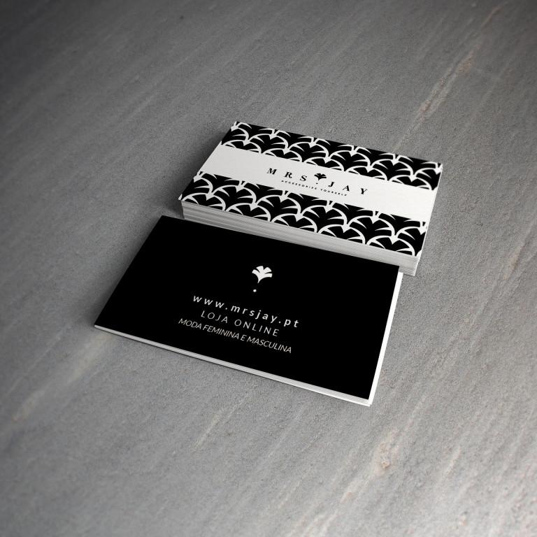 portfolio 8/25  - Cartão de Visita - Mrs. Jay