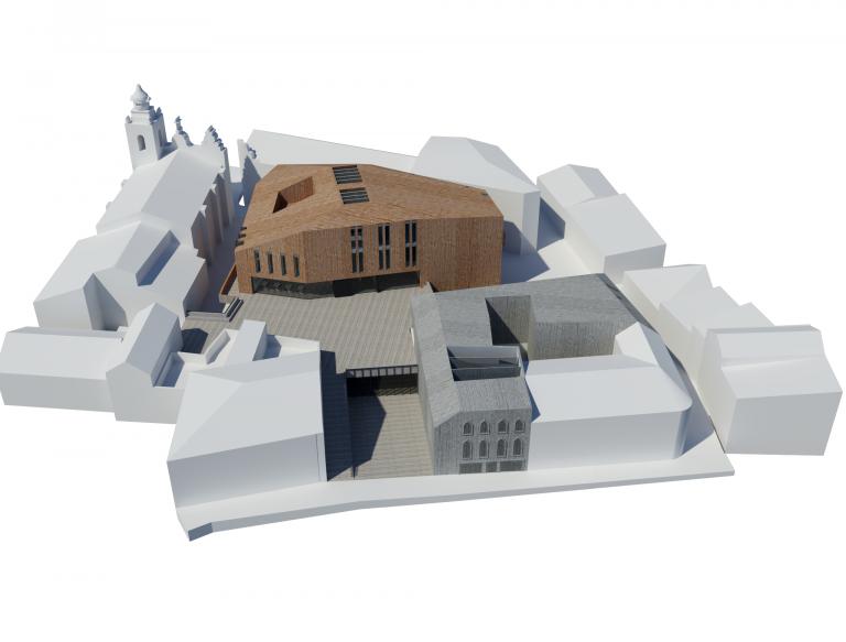portfolio 3/3  - Concurso para a Biblioteca e Museu do Brinquedo em Torres Vedras