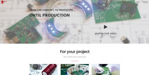 portfolio 3/9  - Website - detus.pt