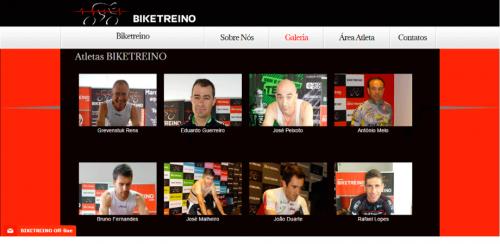 portfolio 50/62  - www.biketreino.pt   Desenvolvimento de Design Gráfico e WebSite