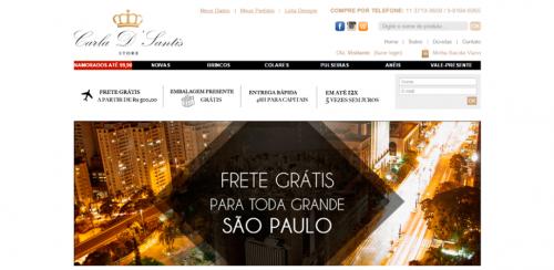 portfolio 48/62  - www.carladsantis.com.br   Desenvolvimento de Loja Online e Design Gráfico