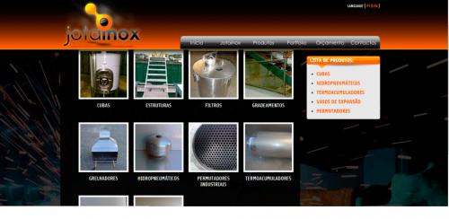 portfolio 62/62  - www.jotainox.pt   Desenvolvimento de Design Gráfico e WebSite