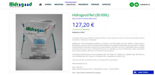 portfolio 38/62  - www.hidrogood.pt   Desenvolvimento de Design Gráfico e WebSite