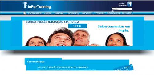portfolio 34/62  - www.infortraining.pt   Desenvolvimento de Design Gráfico e WebSite