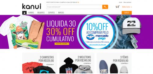 portfolio 32/62  - www.kanui.com.br   Desenvolvimento de Loja Online e Design Gráfico