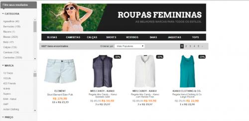 portfolio 31/62  - www.kanui.com.br   Desenvolvimento de Loja Online e Design Gráfico